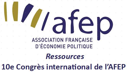 Appel à communication : Date limite des propositions - 10e Congrès de l'AFEP
